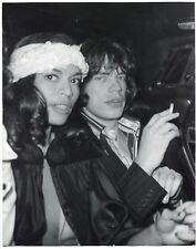 Paparazzi - Mick and Bianca - Tirage argentique d'époque - 1970's -