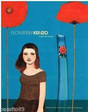 PUBLICITE ADVERTISING 105  2006  KENZO  parfum  pour femme FLOWER
