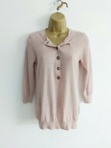Boden Size 10 Pale Pink Thin Knit Jumper
