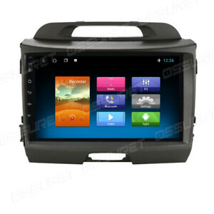"""In Dash 9"""" Android Car Stereo Radio GPS Navigation fit KIA Sportage 2011 12-2016"""