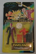 """1995 BATMAN FOREVER """"TWO-FACE"""" MOVIE VILLAIN ACTION FIGURE MIP SEALED KENNER"""