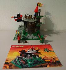 (GO) Lego 6082 Fire Breathing Fortress Ritterburg MIT BA GEBRAUCHT 100% KOMPL.