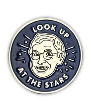Stephen Hawking Enamel Pin, button, science, cosmos, brief history of time,ALS