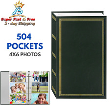 Photo Album 4x6 504 Photos Organizer Wedding Baby Family Pictures Memory Storage