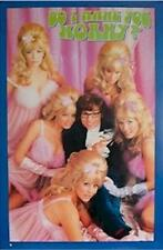 Austin Powers ~ Make You Horny 23x35 Movie Poster Mike Myers Fembots New/Rolled!