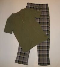 Buffalo David Bitton 2 pzas Modal Conjunto De Pijama Pantalones & Henley