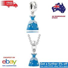 GENUINE Pandora Disney Cinderella's Dress Hanging Charm 【AU Stock】791578ENMX
