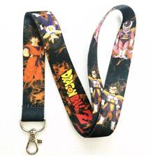 Dragon Ball Z Anime Lanyard Keychain ID Holder DBZ Vegeta Goku Characters