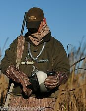 New Avery Greenhead Gear Decoy Waxed Oil Cloth Hat Cap  2-Tone Brown Great Flag