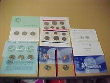 1979-1980-1981-1999 COMPLETE SUSAN B ANTHONY BRILLIANT UNCIRCULATED OGP SETS !!