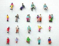 F5 N- 100 Stück Figuren Reisende Passanten Kinder für Modellbahn 1:160