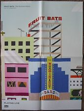 FRUIT BATS Album POSTER Ruminant Band 18x24 From 2009