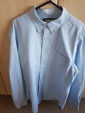 Club Room Men's blue checked Cotton Shirt Size Slim Fit - Medium. Worn Once