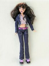 My Scene Swappin Styles Nolee Doll with Some Clothes Part Set Lot