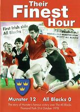 Their Finest Hour: Munster , All Blacks -Story of Munster's Victory 1978 Ireland