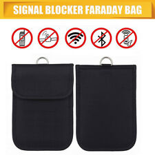 RFID Signal Blocker Anti-Radiation Shield Case Bag Pouch for Big Cell Phone GPS