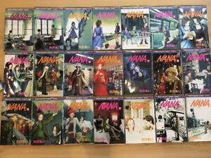 NANA vol.1-21 Japanese edition Comics Comple set  Ai Yazawa Manga Book