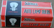 10 New Harley Flathead 6 Volt Headlight Bulbs Part #67750-35 High/Low Beam 192