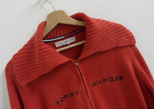 Womens Tommy Hilfiger Long Sleeve Zip Cardigan Jumper XXL : LS900
