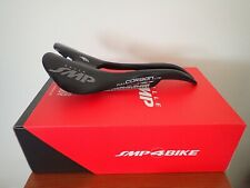 New Selle SMP Full Carbon Lite Bicycle Saddle Carbon Rails- Black Made in Italy
