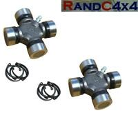 TVC100010 x2 Land Rover Defender Discovery GKN Propshaft Universal Joint UJ