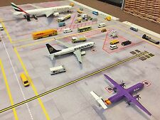 1/200 SCALE MODEL AIRPORT FOIL LAYOUT 2 PARKING SLOTS