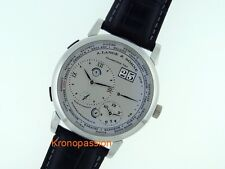 A.Lange & Sohne Lange 1 Time Zone Platinum 41.9mm Ref.116.025