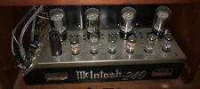 McIntosh 240 Tube Amplifier Mid Century Stereo Gem