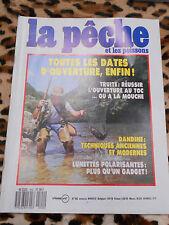 REVUE - La pêche et les poissons - n° 502, mars 1987