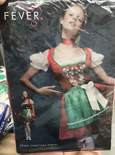 Fever Christmas Dirndl Fancy Dress Costume Oktoberfest Market Beer German Small