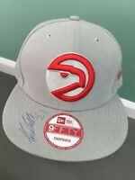 Atlanta Falcons AUTOGRAPHED #21 NFL New Era 9Fifty Snapback Gray Red Hat