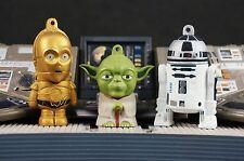 Star Wars Figur Cake Topper Decoration Yoda C-3PO R2-D2 Droid Set K1109_AHK