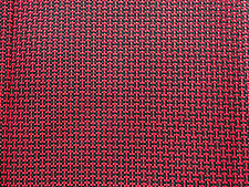NEW RECARO TOMCAT WILDCAT RED SEATS FABRIC SR3 SR4 SR5 MIDDLE SEAT CLOTH CAR