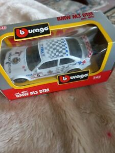 Burago 1:43 scale BMW M3 DTM die cast model