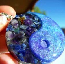 Gemstone Yin Yang Pendant-Resin Pour-Custom!