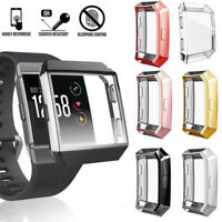 TPU Shell Watch Frame Screen Protector Protective Case For Fitbit ionic