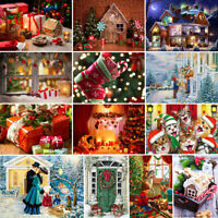 Full Drill 5D Diamond Painting DIY Embroidery Cross Stitch Christmas Party Decor