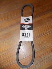 NOS Gates Automotive Belt Made In USA 82-93 BMW 80-82 GMC Kawasaki Porche 8321