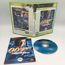 James Bond 007: Nightfire-Microsoft Xbox-Excellent état-neuf dans sa boîte + notice