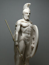 LEONIDAS Spartan King  Greek Warrior Cast Marble Statue Sculpture figure 9.45΄΄