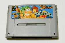 Super Famicom Joe&Mac Tatakae Genshijin Japan SFC SNES