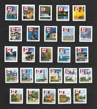"Canada - 2004 to 2010 ""FLAG OVER"".definitives - 5 compl. sets, 26 diff"