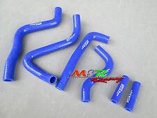 for Kawasaki KX250 KX 250 1999-2002 silicone radiator coolant hose kit blue