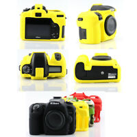 Nice Soft Silicone Rubber Camera Protective Body Cover Case Skin For Nikon D7500