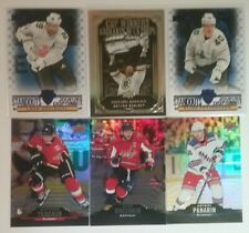 2020-21 TIM HORTONS HOCKEY -  BASE 5 FOR $1 - RED DIE CUT, GOLD ETCHINGS, CANVAS
