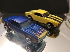 67 CHEVROLET CAMARO DIECAST COLLECTIBLE 1/64 LIMITED EDITION HOT WHEELS LOT OF 2