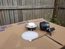 Elinchrom Ranger Quadra S Flash Head + Reflector & Diffusor, EL20107