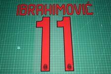 AC Milan 12/13 #11 IBRAHIMOVIC Awaykit Nameset Printing