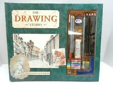 Anne Roach & Colin Robson The Drawing Studio Artistic Sketch Book W/ Accessories