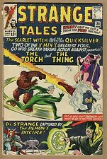 Strange Tales #128 - Scarlet & Quicksilver CVR! - 1965 (Grade 4.5) WH